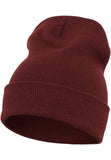 Flexfit Heavyweight Long Beanie Maroon 1501KC Brown