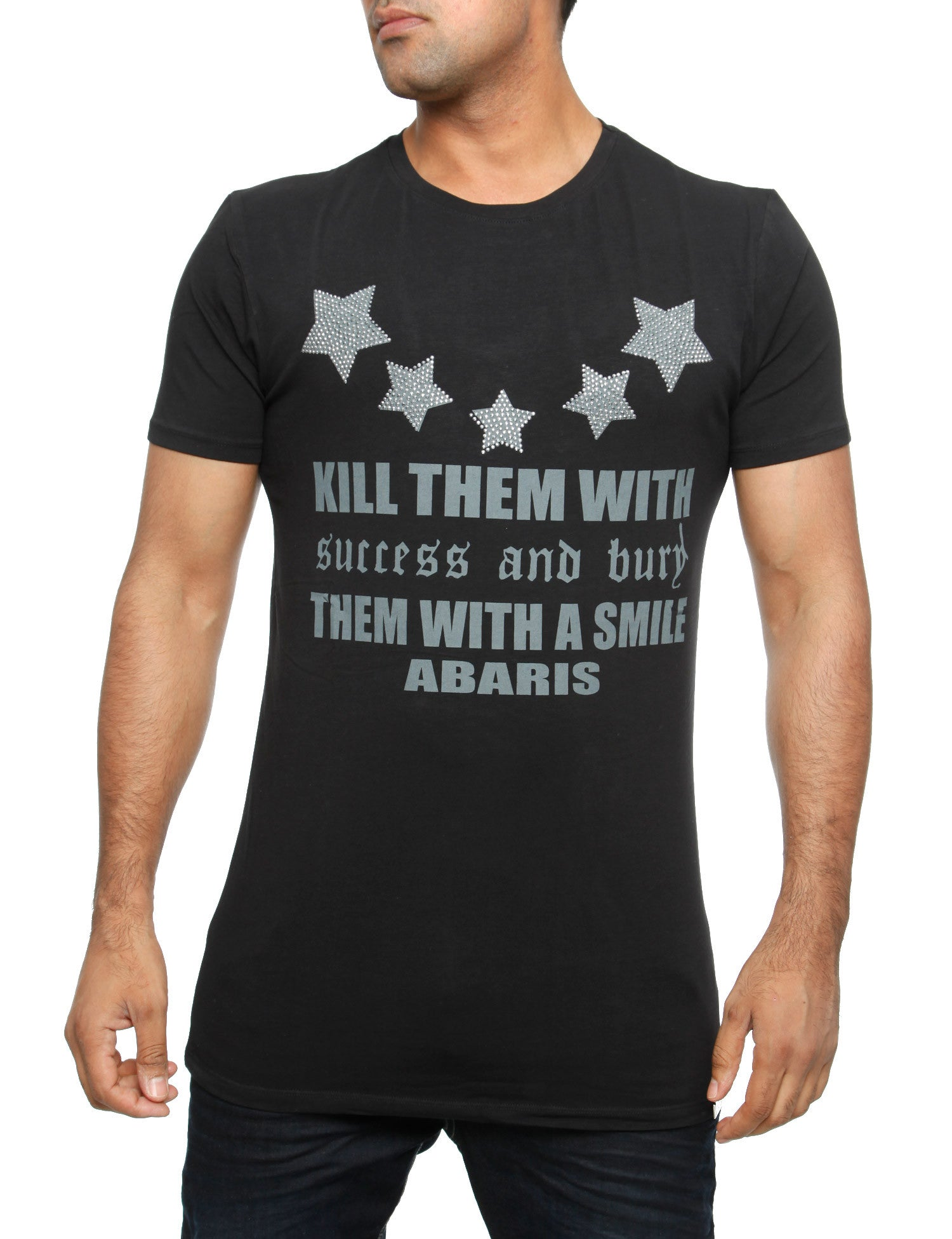 Kill them with a Smile T-Shirt Black
