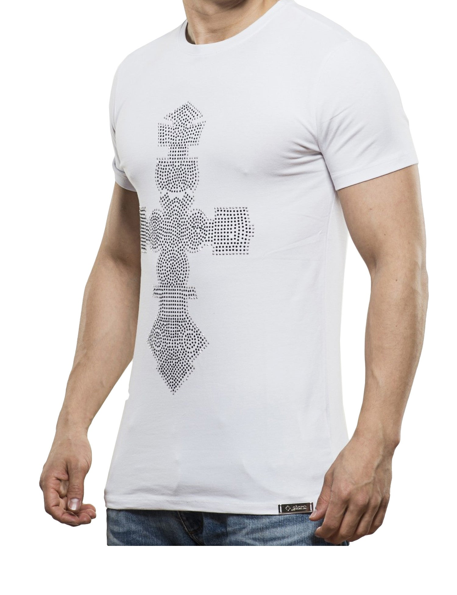 Cross T-Shirt White