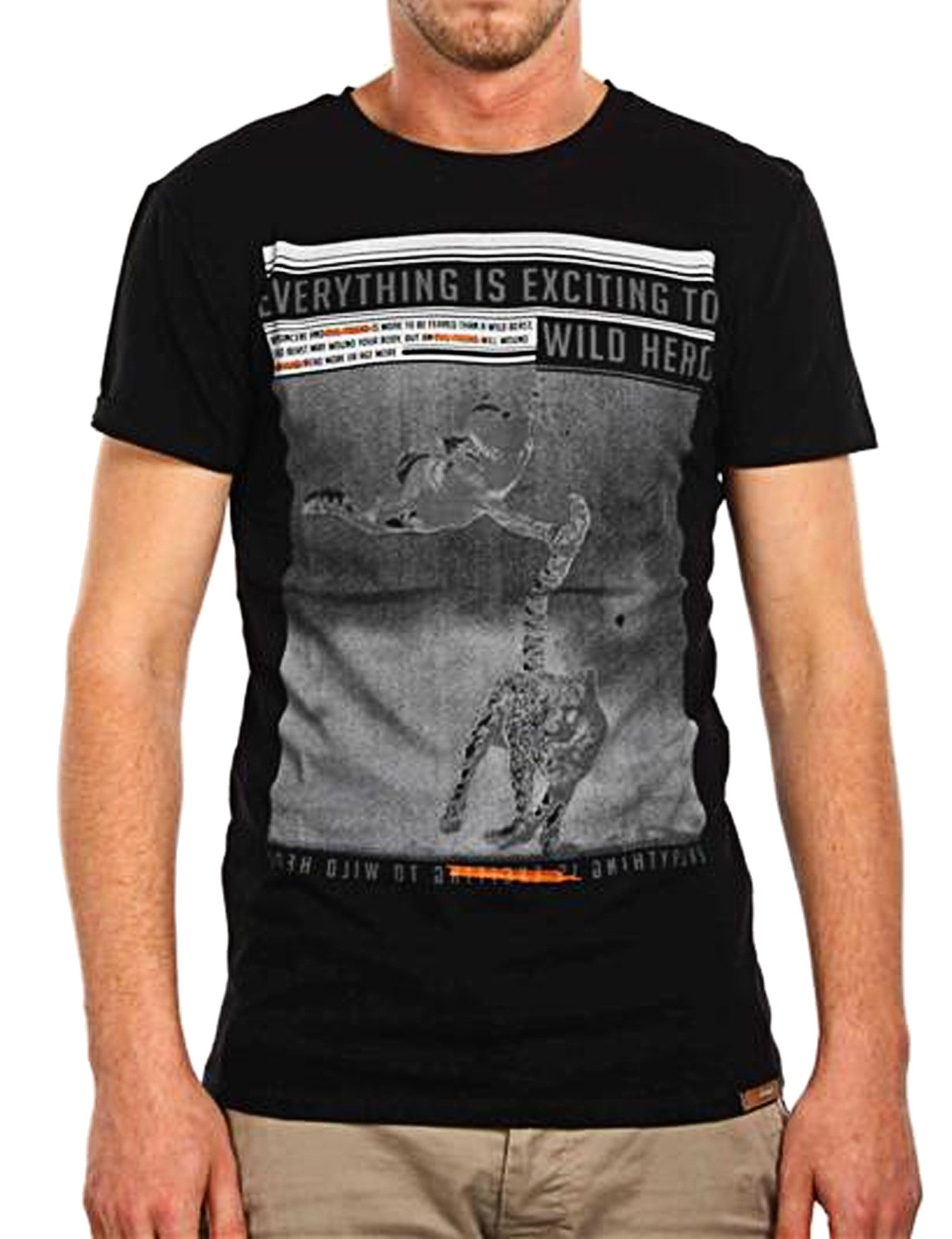 Wild Hero T-Shirt Black