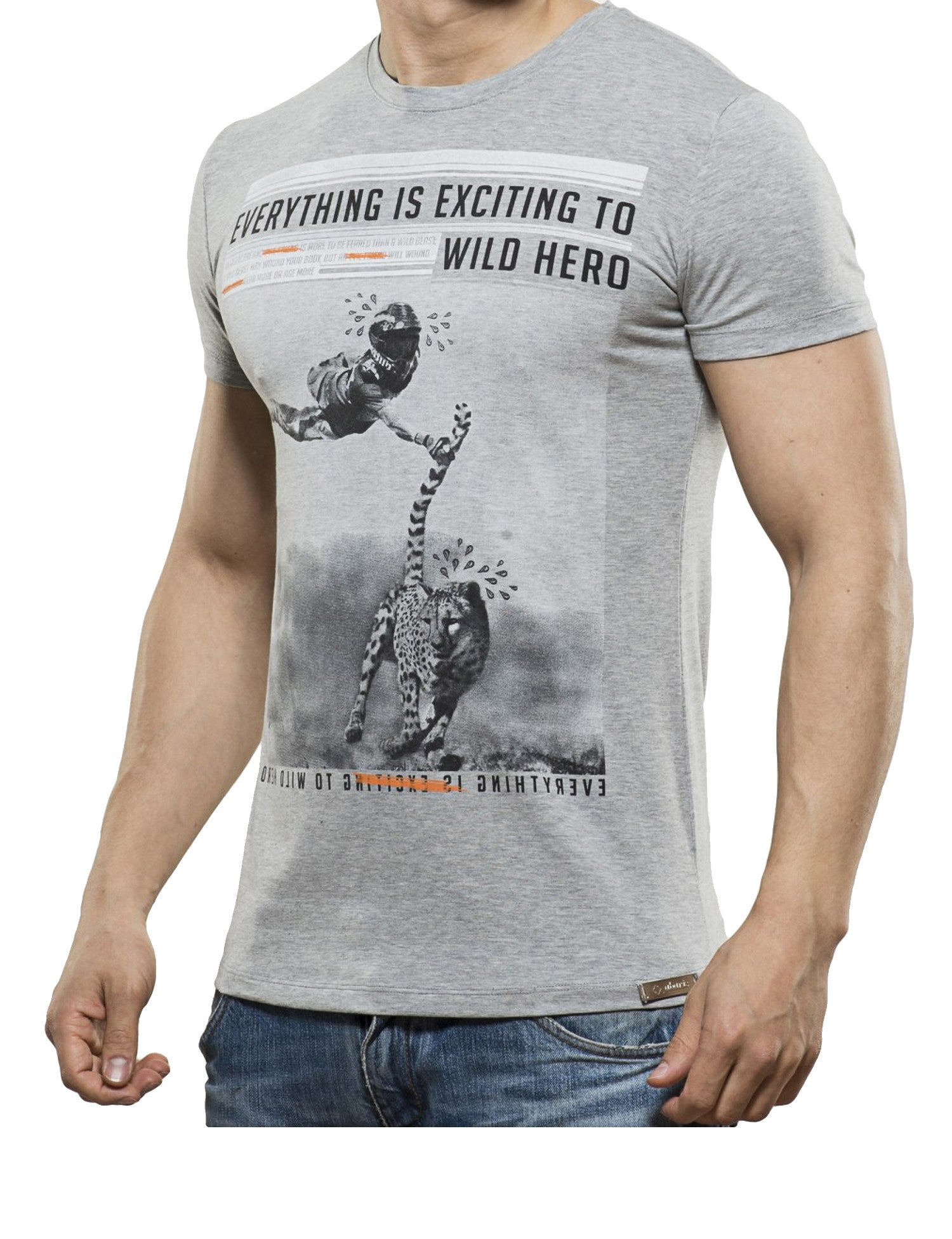 Wild Hero T-Shirt Grey