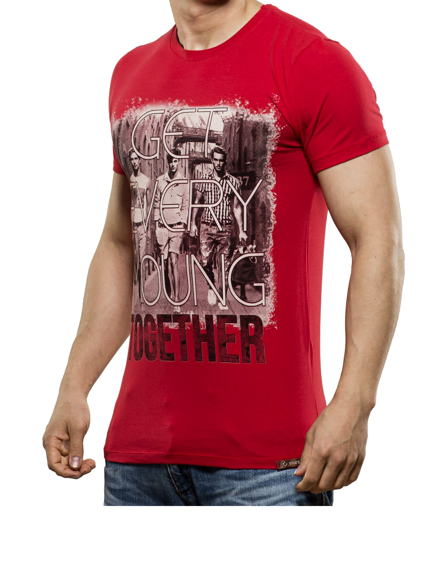 Young together T-Shirt Red