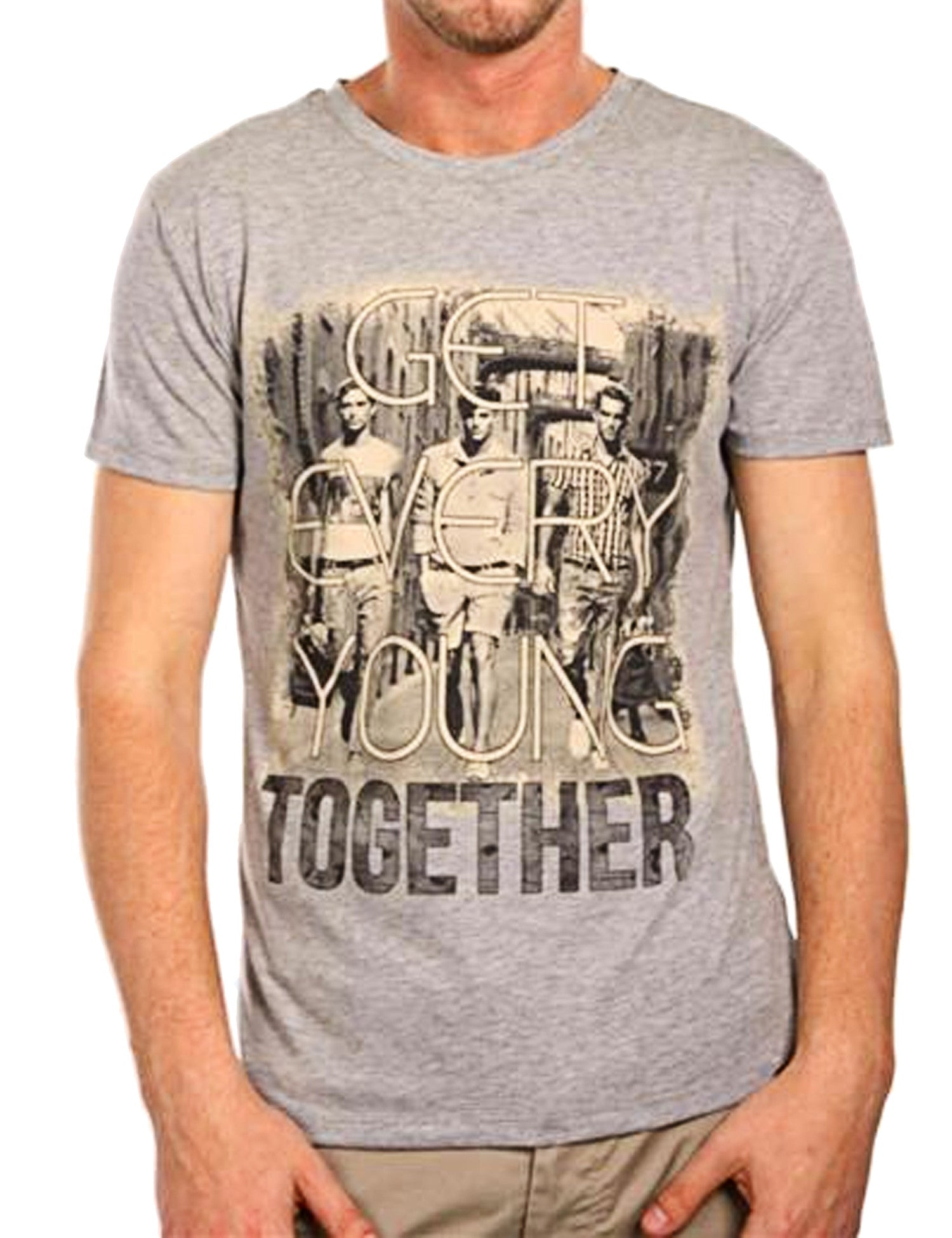 Young together T-Shirt Grey