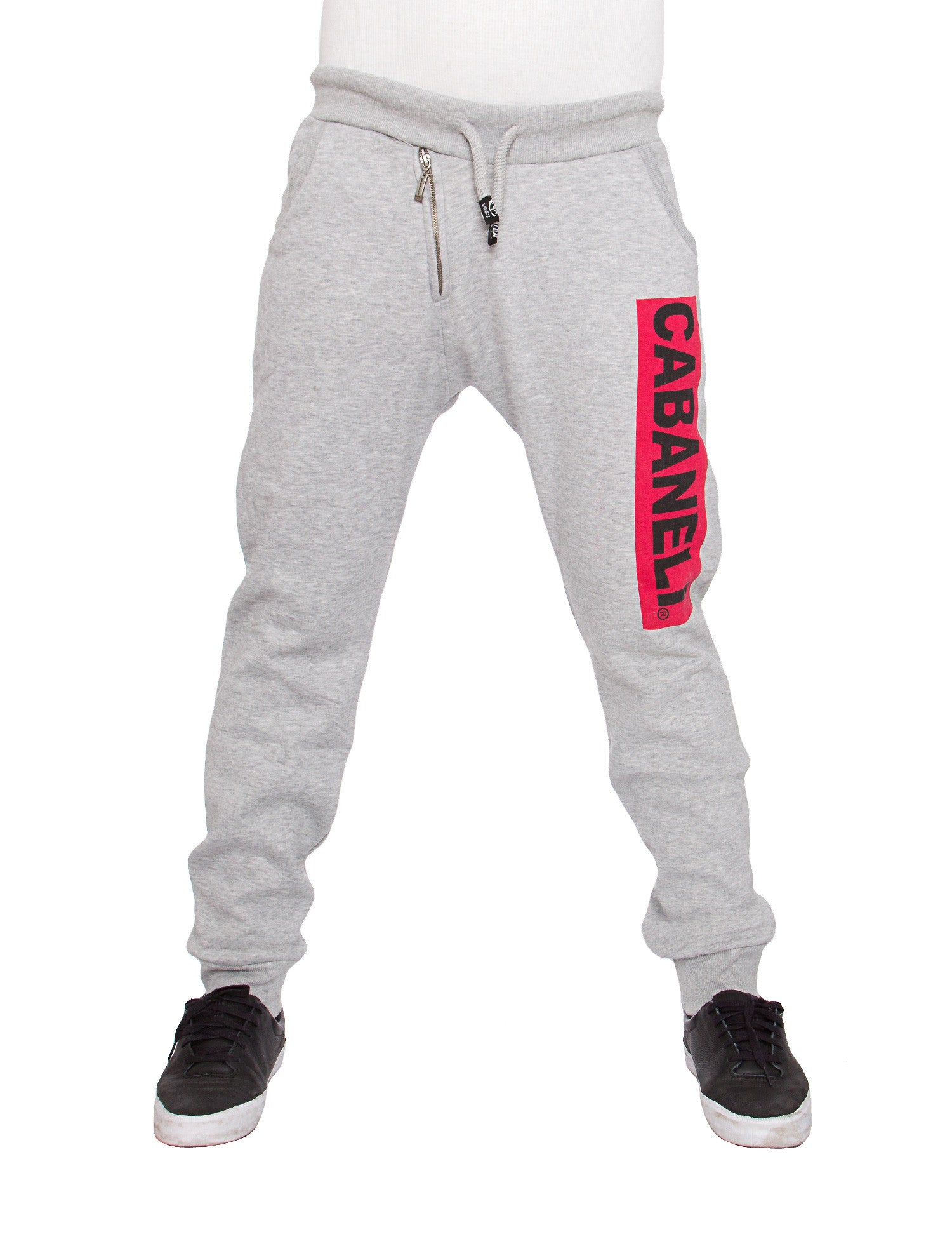 Cabaneli Bar Logo Sweatpant ID 010 Grey