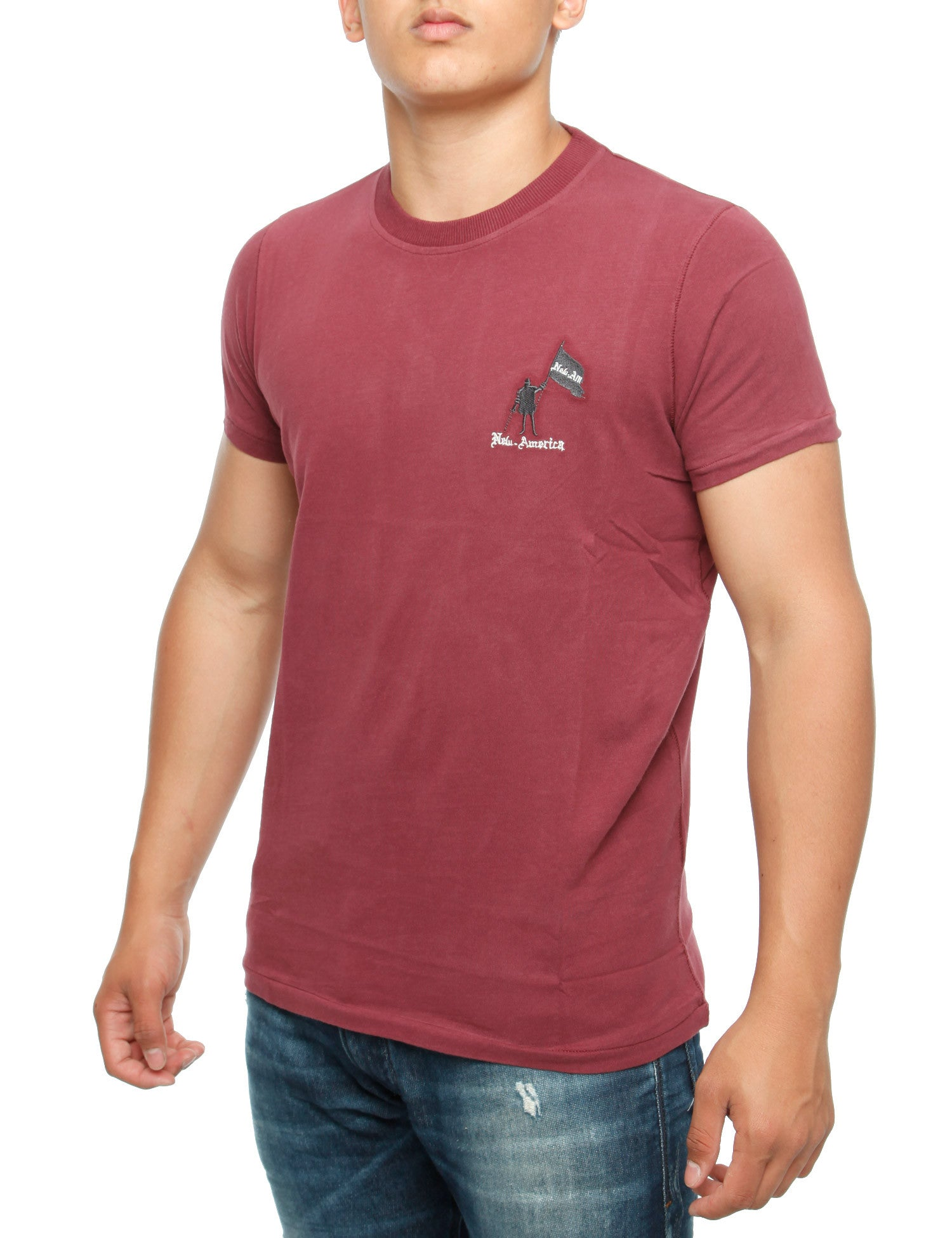 Palm Bay T-Shirt Bordo Red