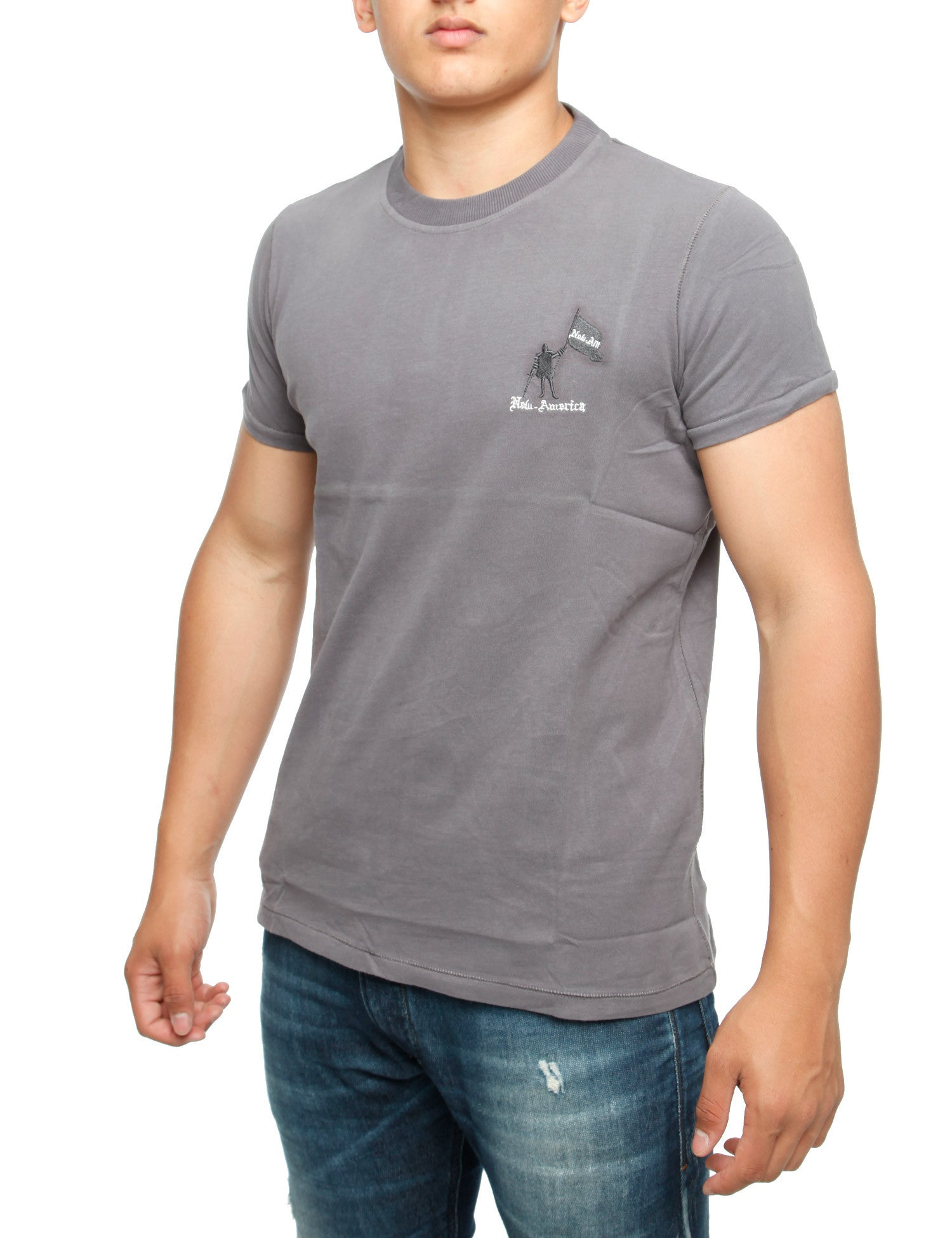 Palm Bay T-Shirt Grey