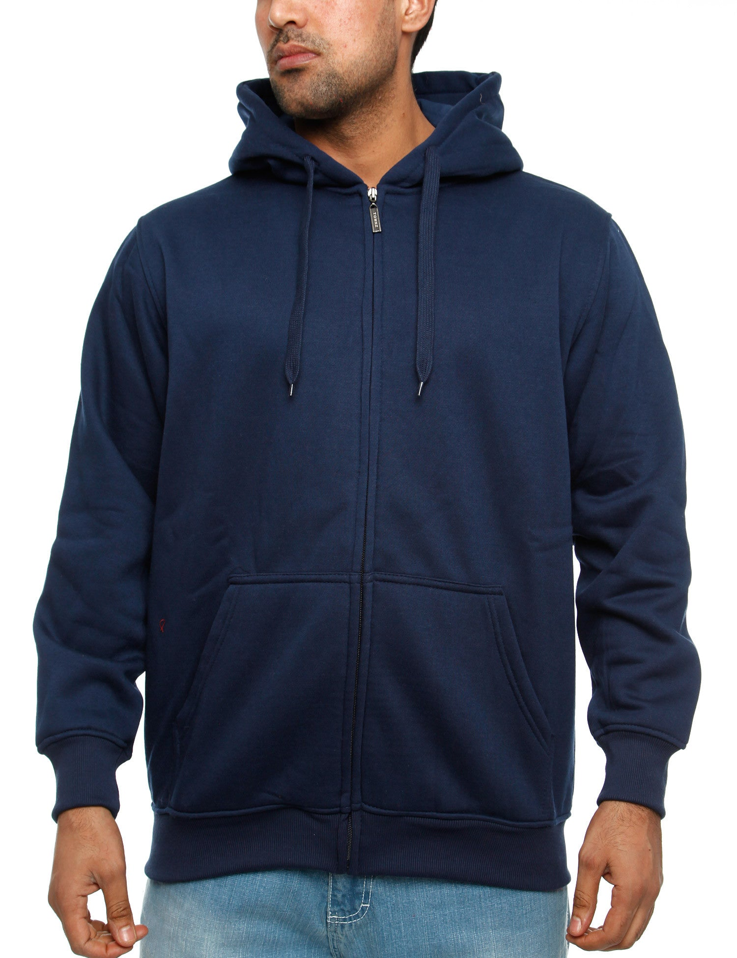 Townz Zip Hoody PS-034B Navy