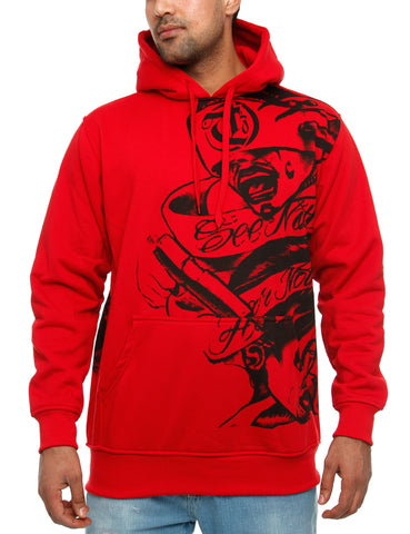 Townz Loon Creature Hoody RWD-137D Red