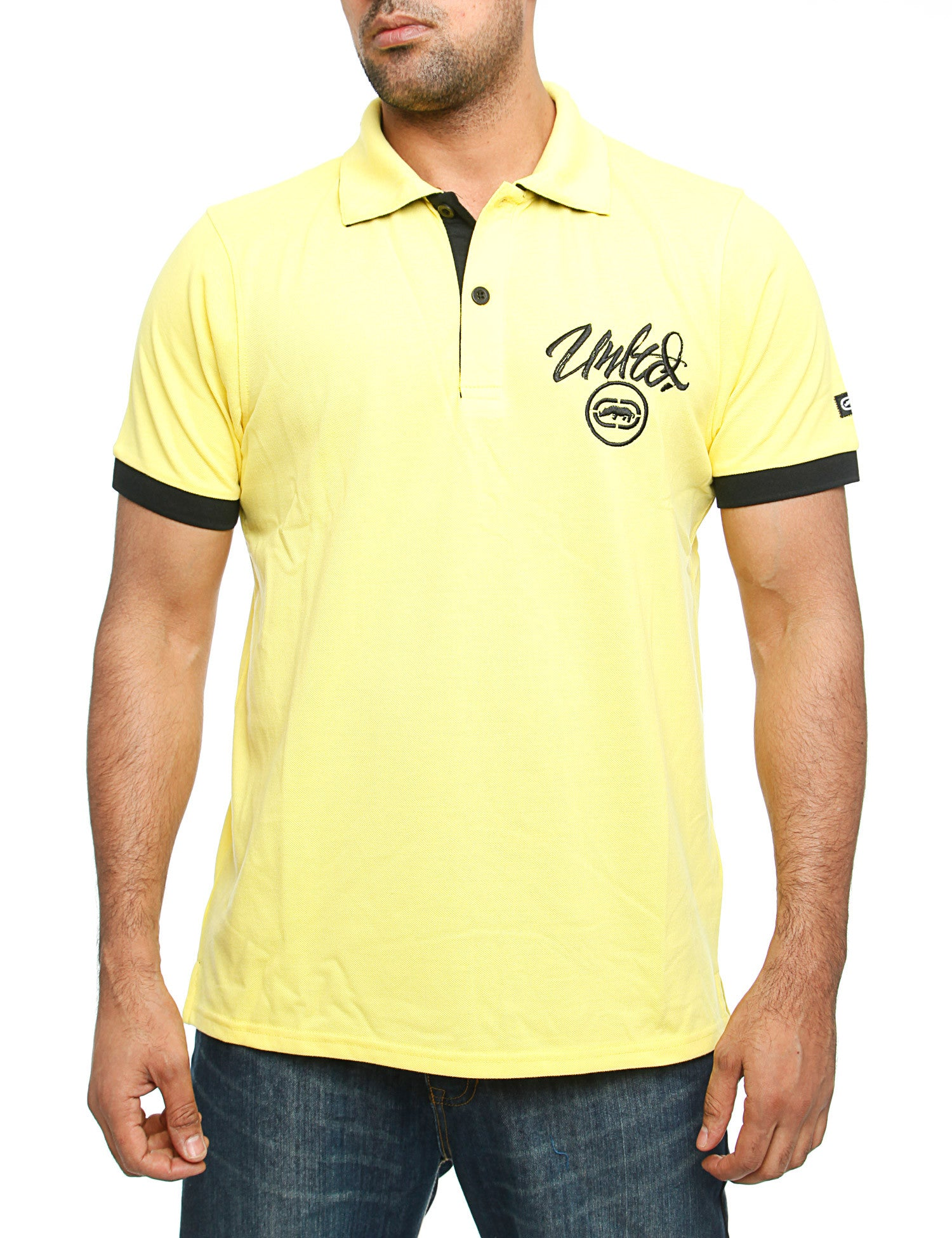 Image of Ecko Comet Polo Shirt Yellow