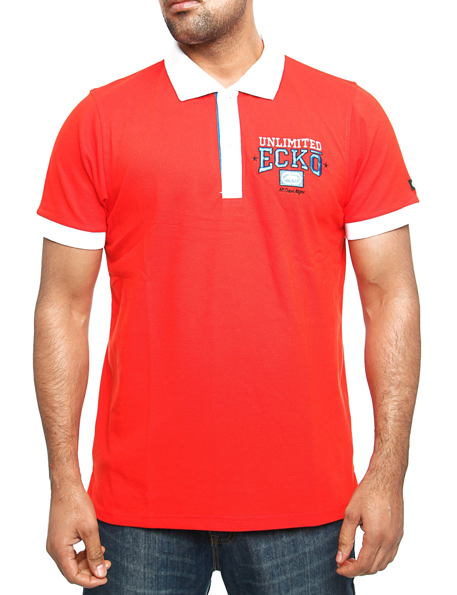 Image of Ecko Magnum Polo Shirt Red
