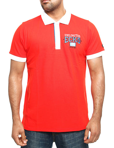 Ecko Magnum Polo Shirt Red