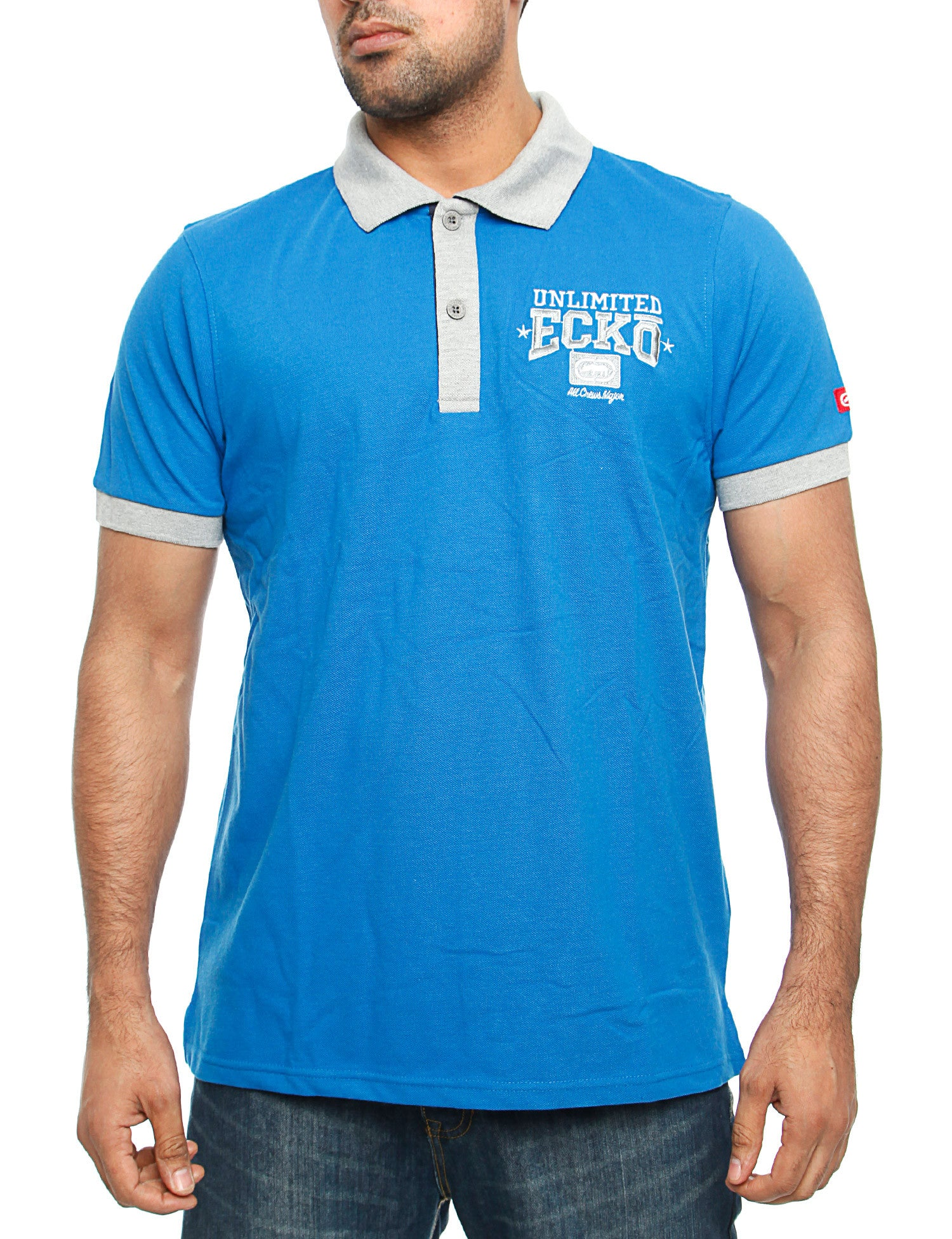 Image of Ecko Magnum Polo Shirt Blue