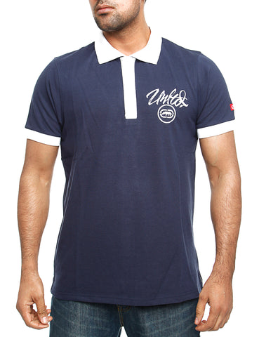 Ecko Midliner Polo Shirt Navy