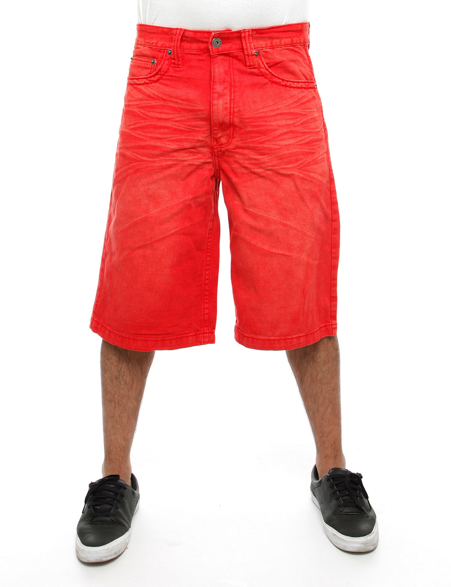 Royal Blue Shorts 9013 Red