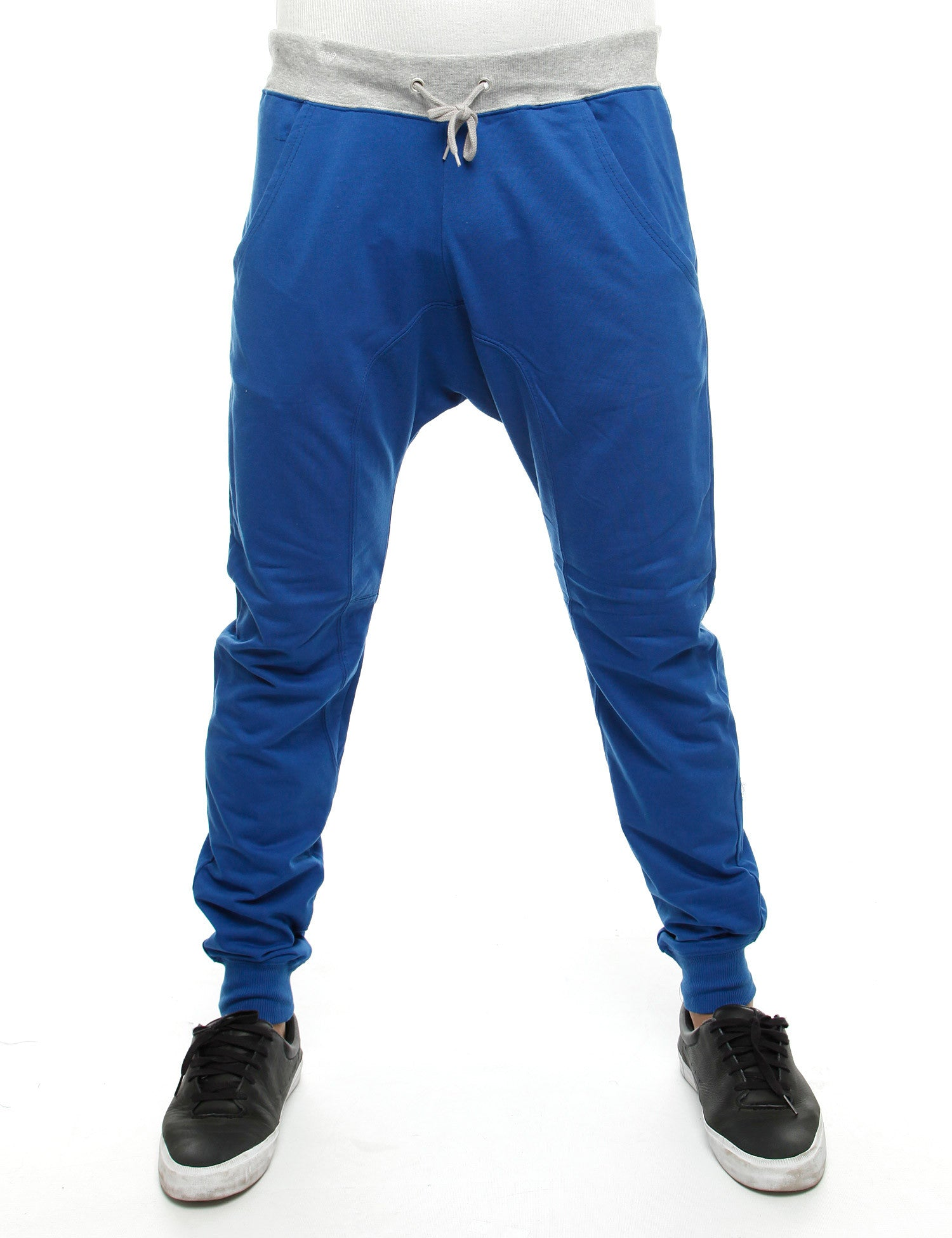 Royal Blue 2-Tone Sweatpants RB5JO0002 Blue