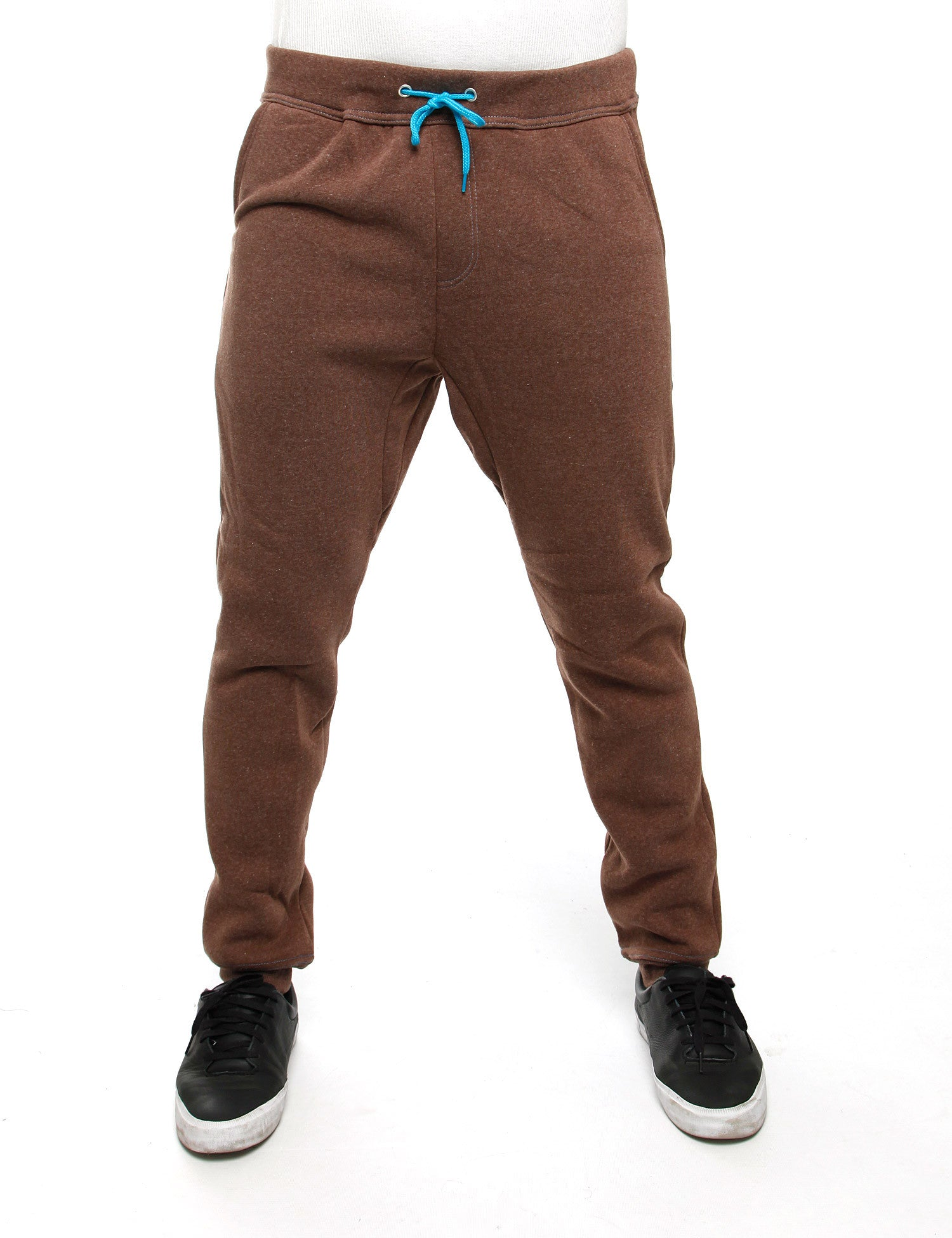 Royal Blue Sweatpants 44013P Brown