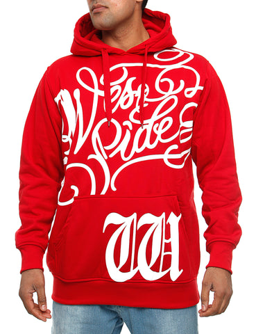 Townz RWD-063D Hoody Red