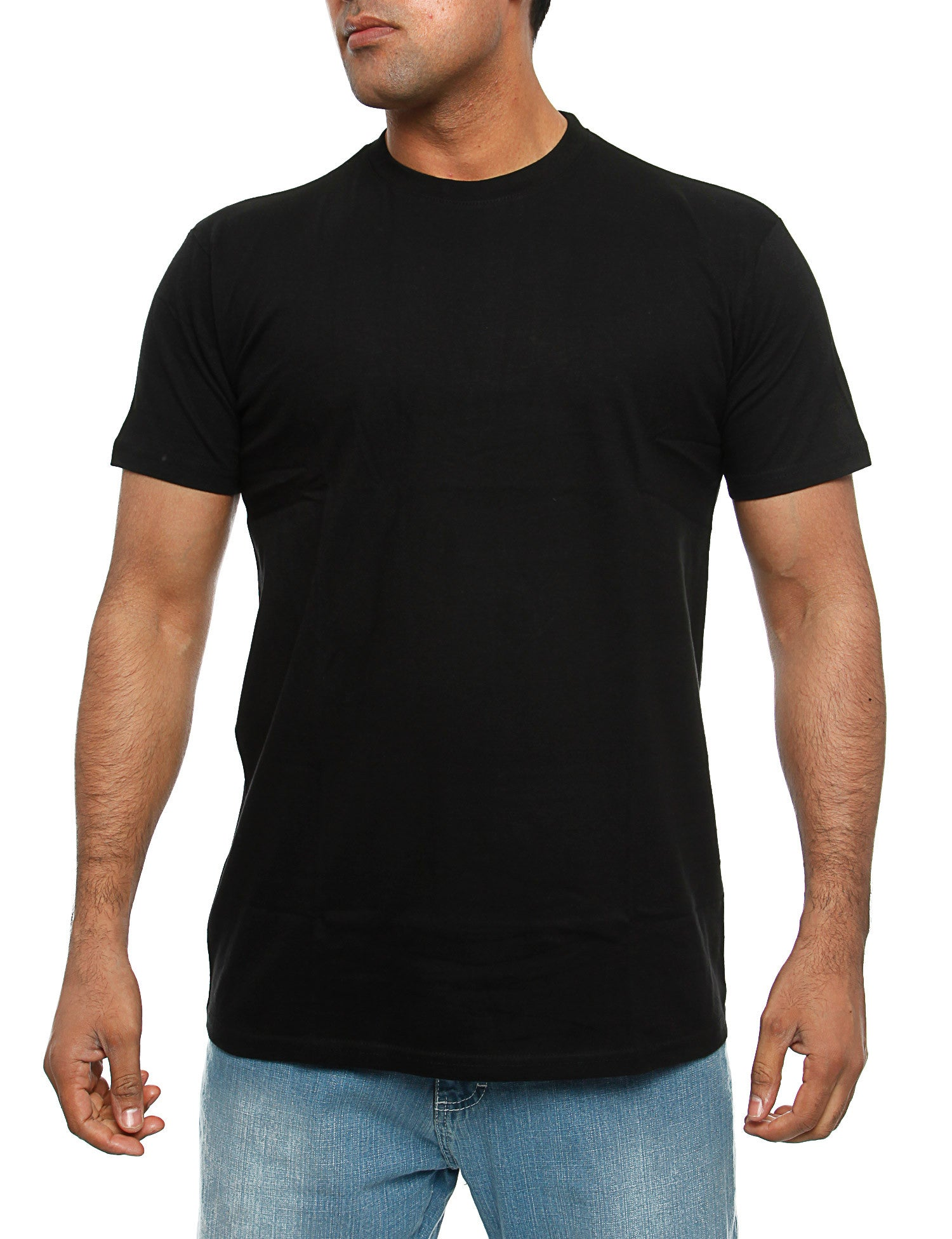 Escobar Basic Blank Tee  Black