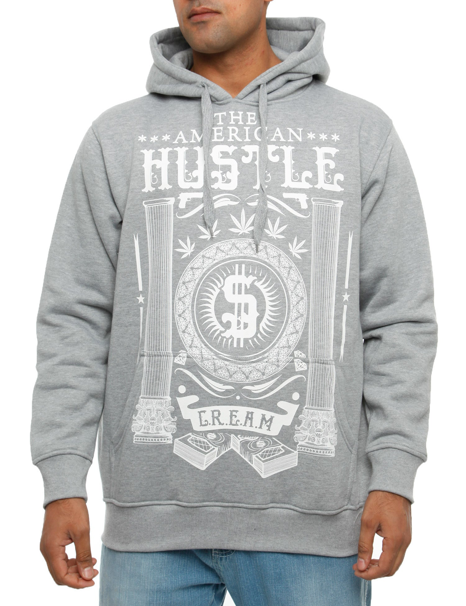 YLD HD-253B Hoody Grey