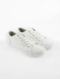 Voi Chrome PU Shoes  White