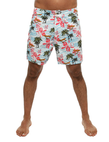 Dickies Palm Valley Shorts Blue