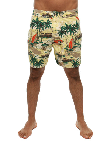 Dickies Palm Valley Shorts Yellow