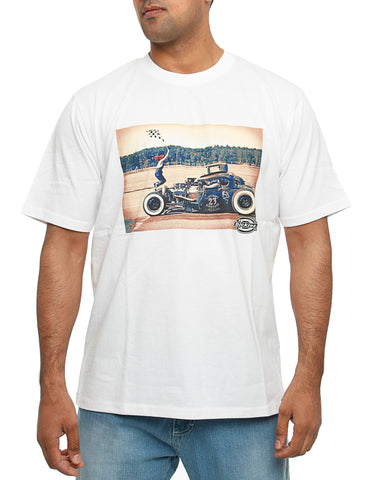 Dickies Hot Rod Flag T-Shirt White