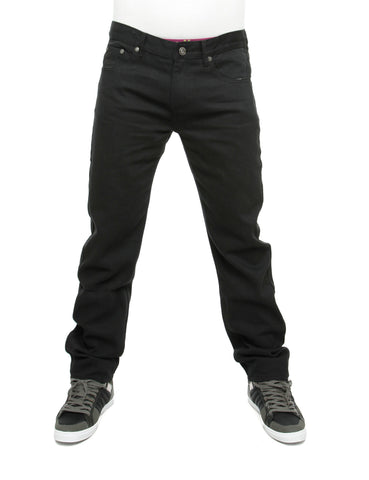Raw Blue Loose Fit Jeans Jet Black