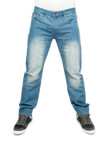 Raw Blue Loose Fit Jeans Light Indigo Blue