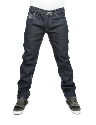 Raw Blue Loose Fit Jeans Rinse Indigo Blue