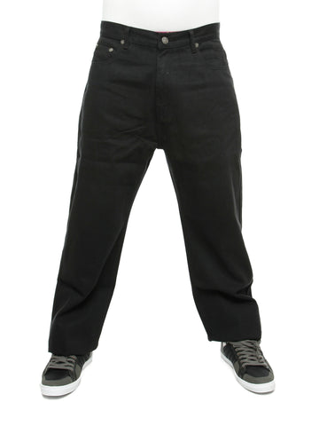 YLD Super Baggy Fit Jeans Jet Black
