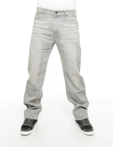 YLD Regular Baggy Jeans Ice Grey
