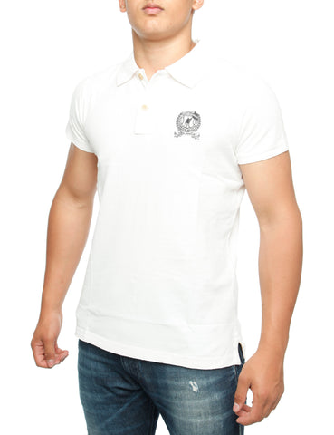 Abaris Huntington Polo Shirt White