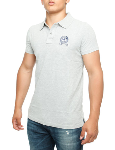 Abaris Huntington Polo Shirt Grey