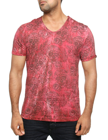 Amica T-Shirt P1022 Bordo Red