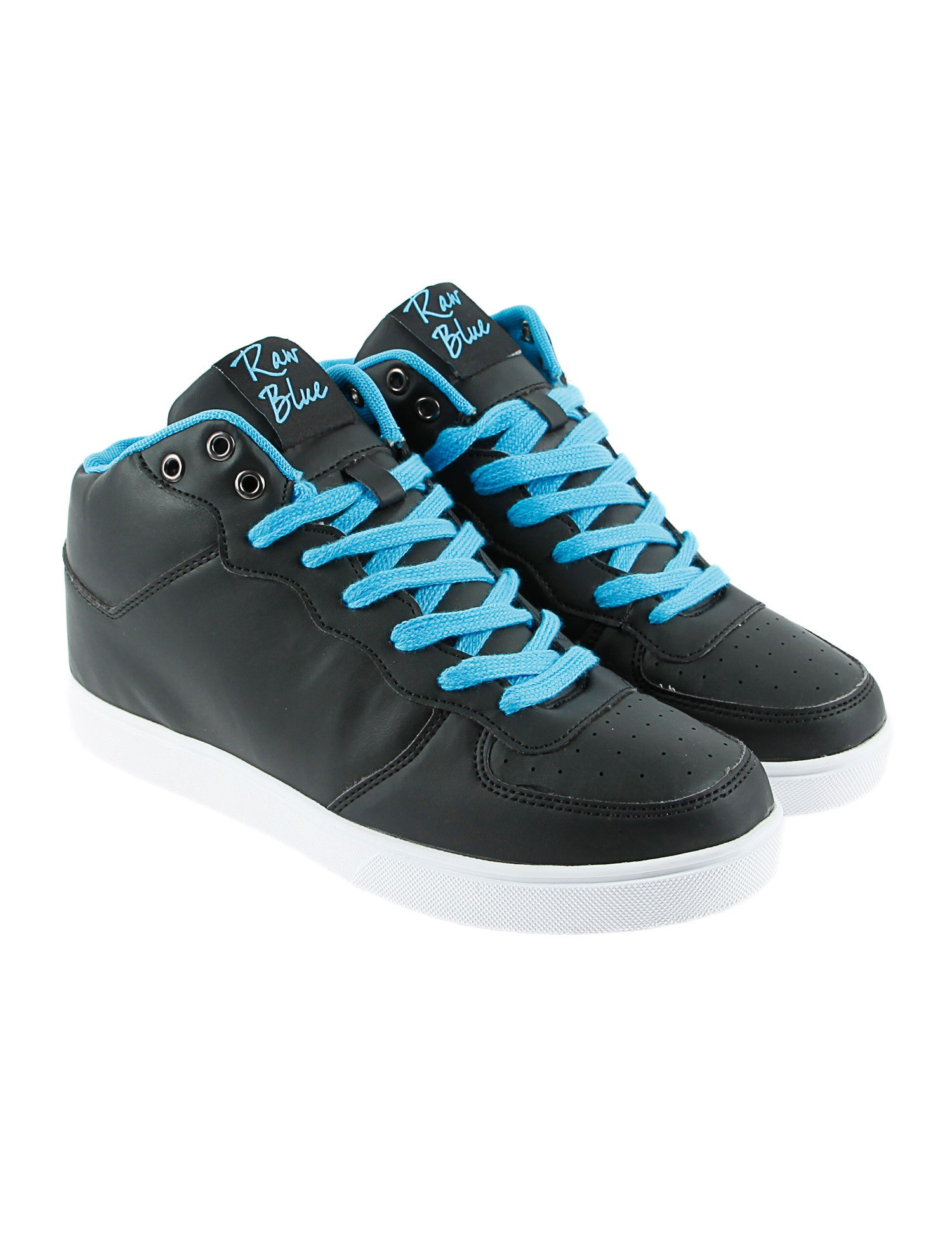 Raw Blue RBS-HIGH-155G Shoes Aqua Black