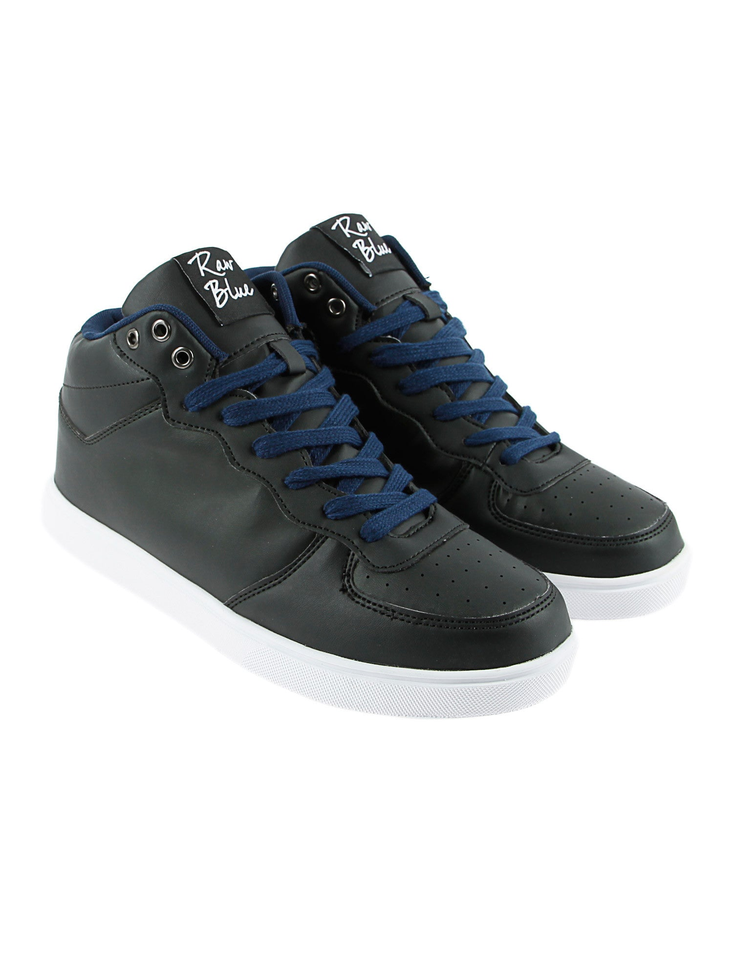 Raw Blue RBS-HIGH-155Y Shoes Navy Black