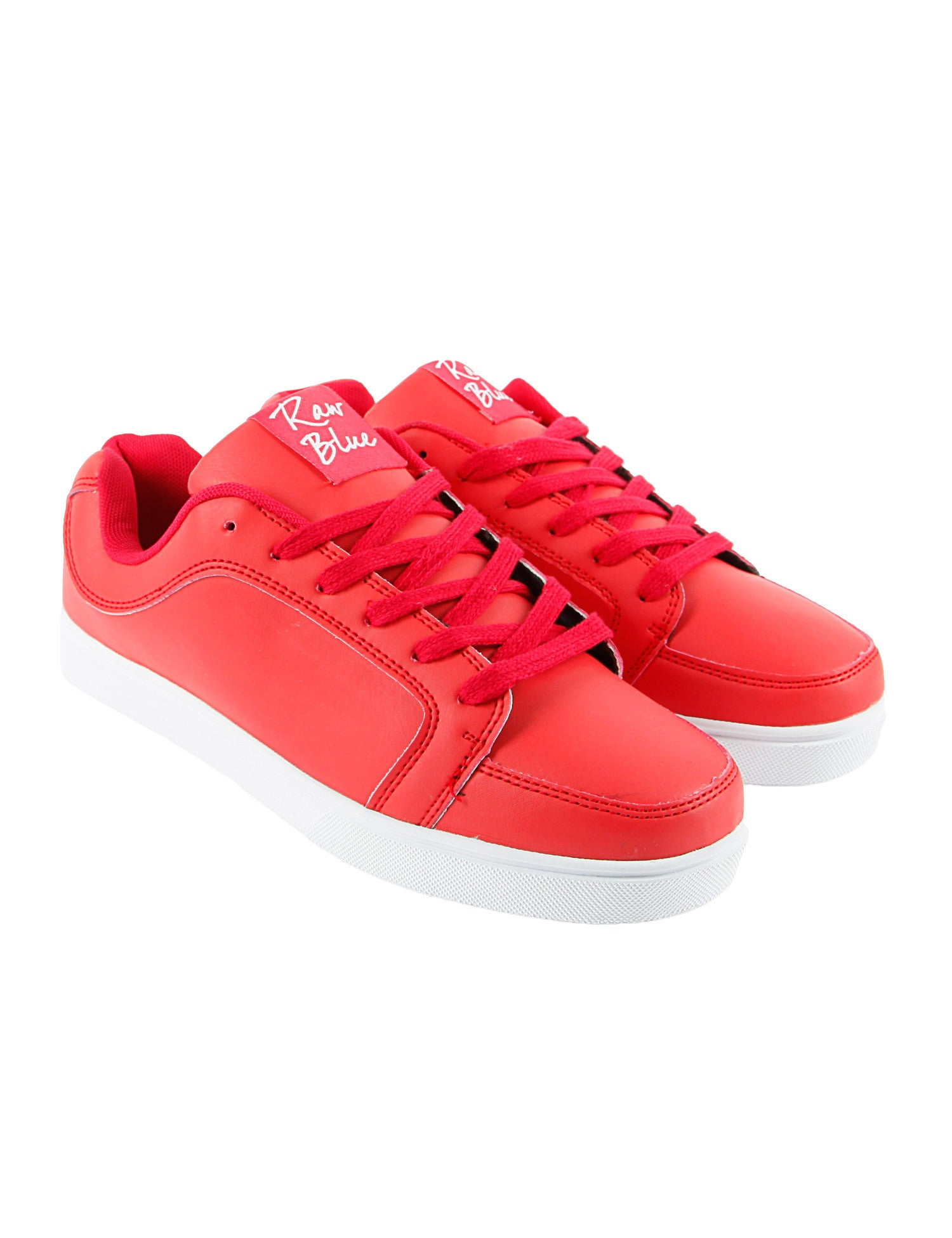 Raw Blue RBS-LOW-155B Shoes Red