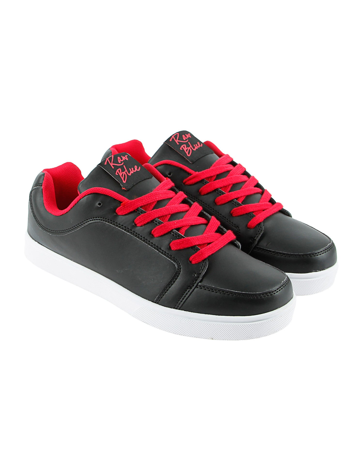Raw Blue RBS-LOW-155F Shoes Red Black