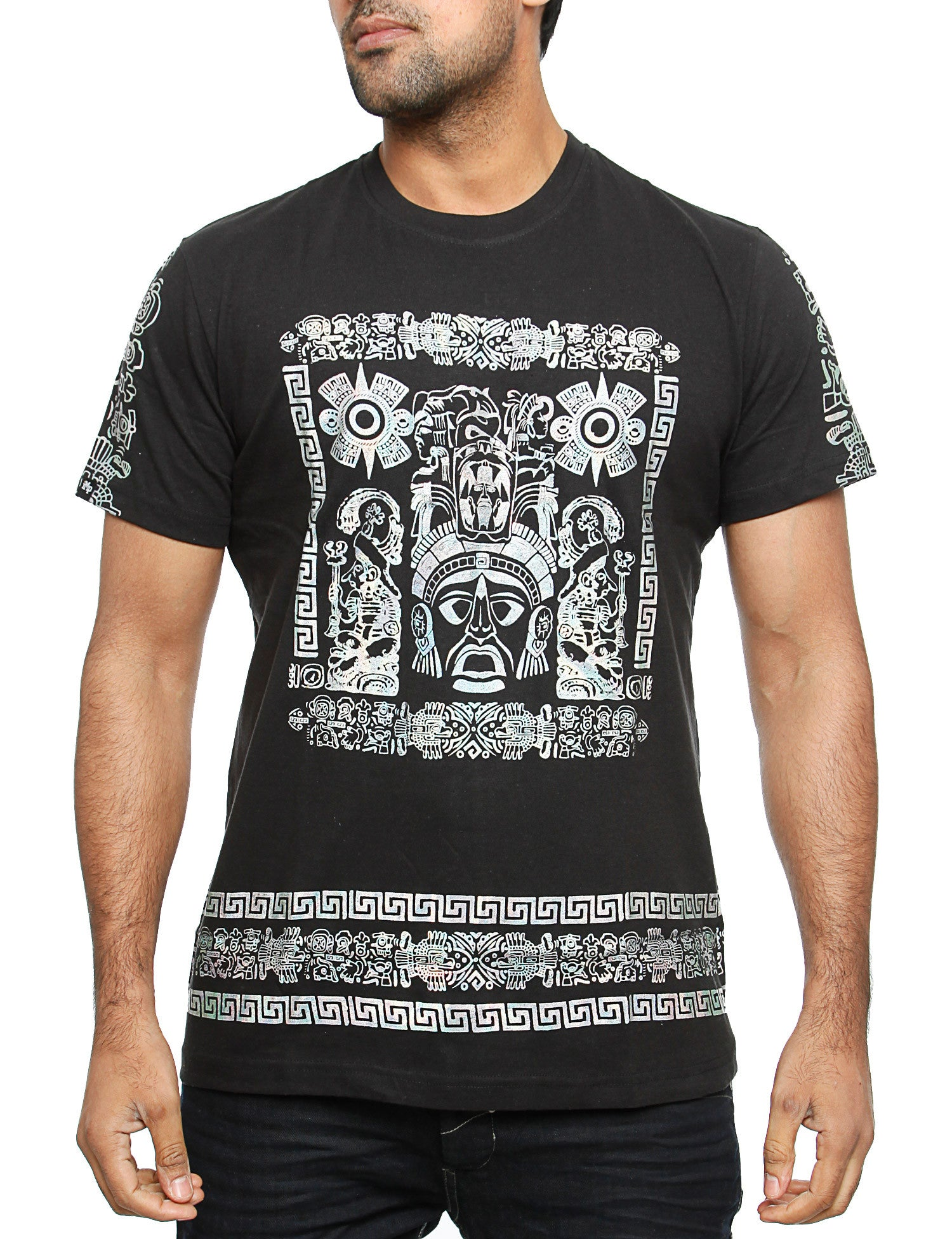 Imperious ?Hologram Mayan? T-Shirt TS542 Black