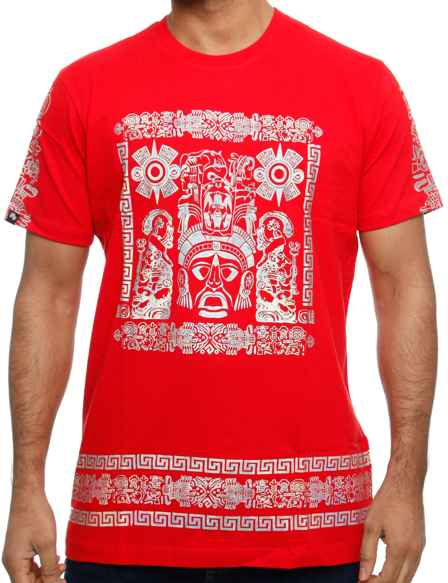 Imperious ´Hologram Mayan´ T-Shirt TS542 Red