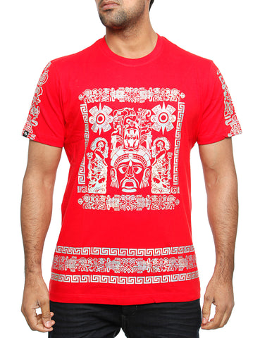 Imperious ?Hologram Mayan? T-Shirt TS542 Red