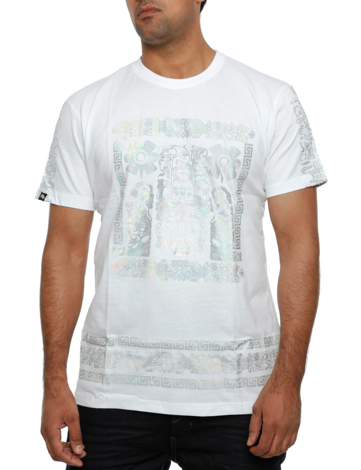 Imperious ?Hologram Mayan? T-Shirt TS542 White