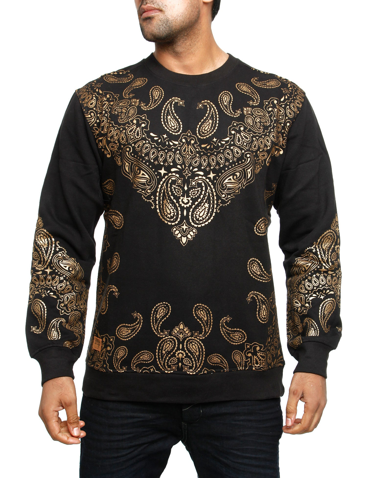Imperious Bandana Sweatshirt CS46 Black Gold