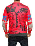 Imperious ´5-Star´ Sweatshirt CS532 Red
