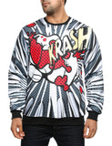 Imperious ´Krush´ All-Over Sweatshirt CS535 Black