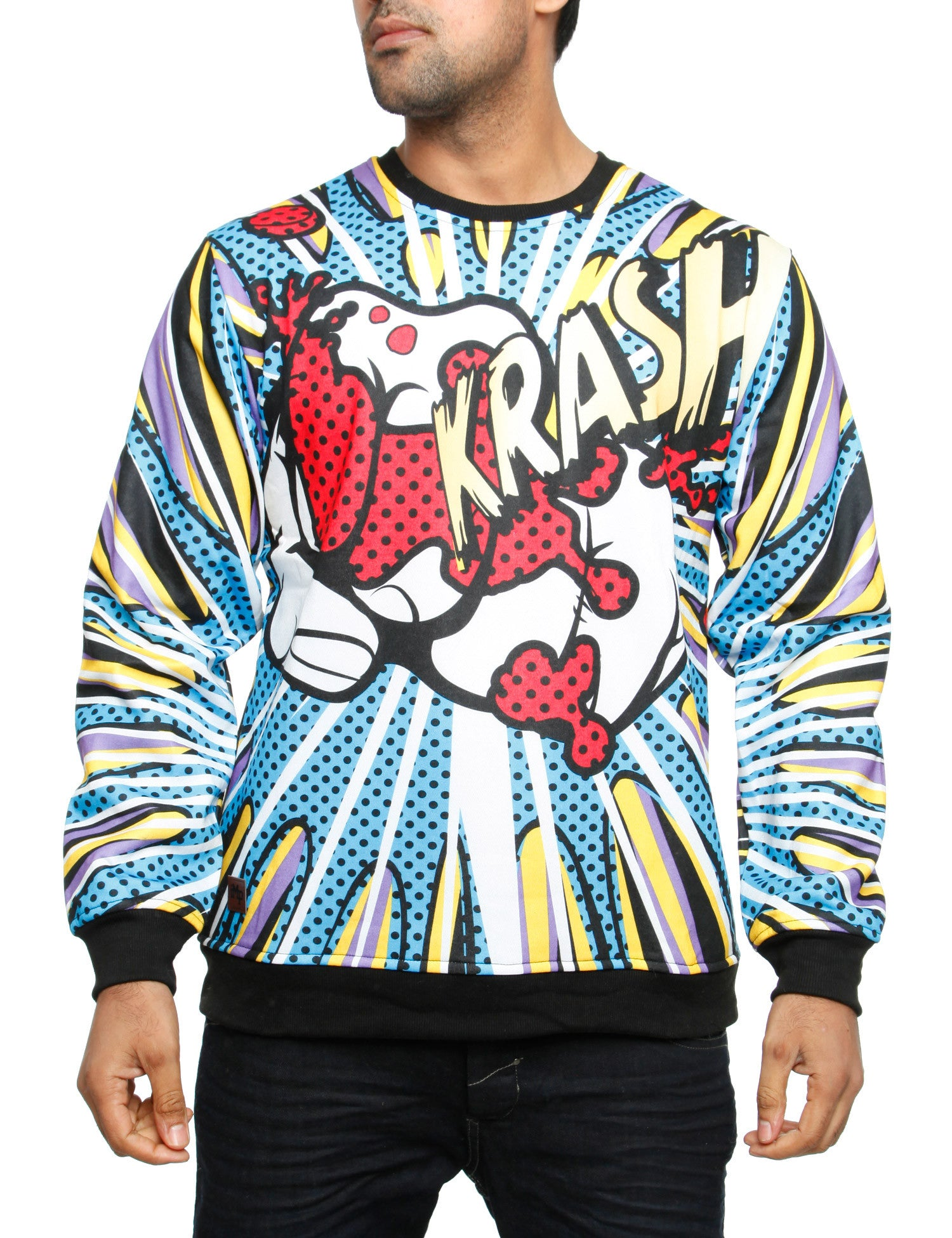 Imperious ?Krush? All-Over Sweatshirt CS535 Blue