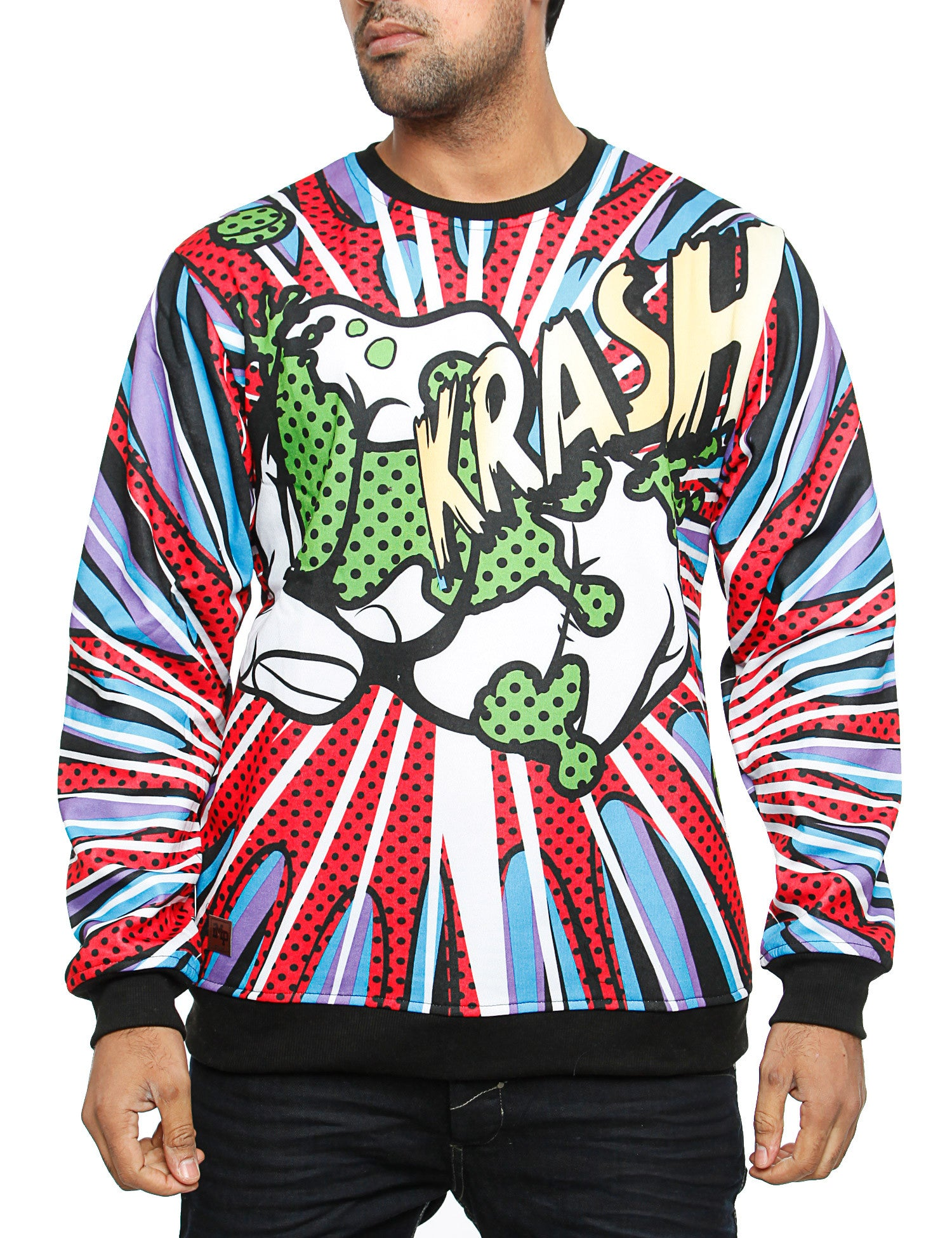 Imperious ´Krush´ All-Over Sweatshirt CS535 Red