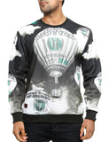 Imperious ?Money Bloom? Sweatshirt CS539 Black