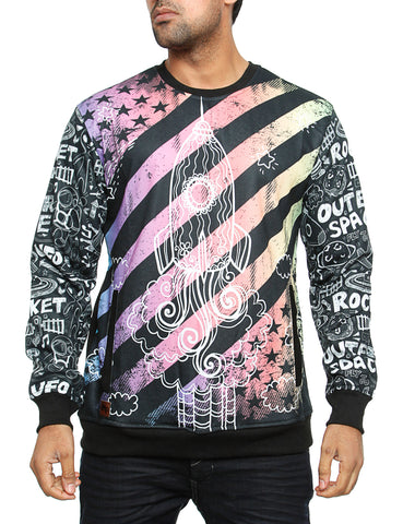 Imperious ?Lift Off? Sweatshirt CS554 Black